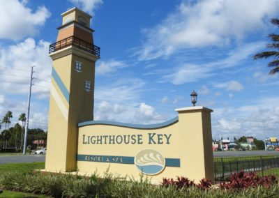 1920-Signage 23, Lighthouse Key