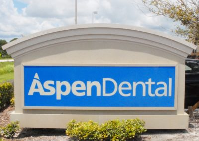 1920-Signage 5, close up Aspen Dental