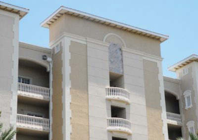 1920-Trim 10, Venetian Condos, with ballusters, pidements, corner trim, arch, corbels